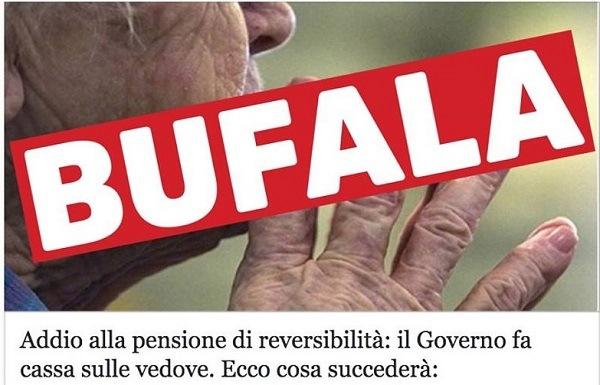 Pensione di Reversibilità 2018 addio? La Bufala gira sul web