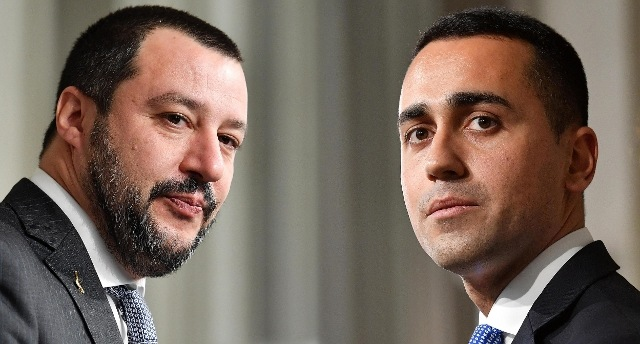 Sondaggi Salvini DI Maio