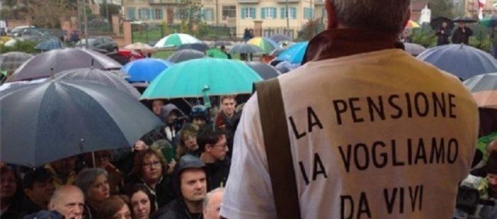 Riforma Pensioni 2018-2019 ultimissime news: nuova manifestazione e proteste dei lavoratori