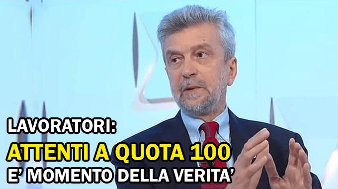Ultime novità Pensioni oggi 25 settembre, Damiano: 'Attenti a quota 100'