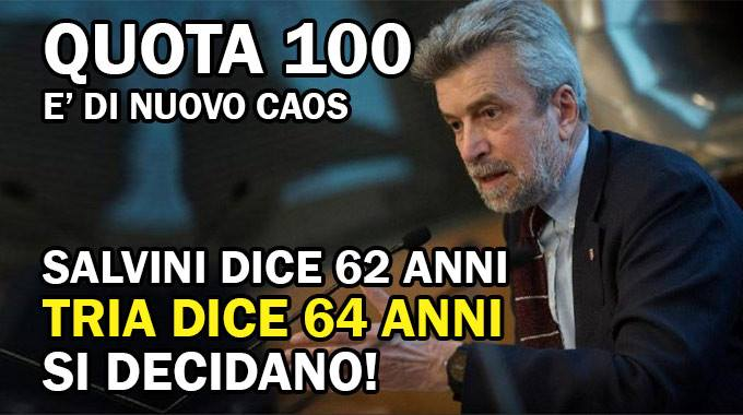 Pensioni oggi Salvini