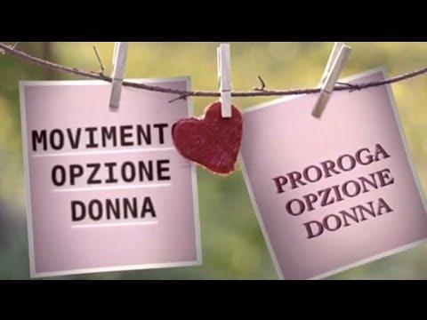 Proroga Opzione Donna