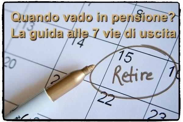 Quando vado in pensione?