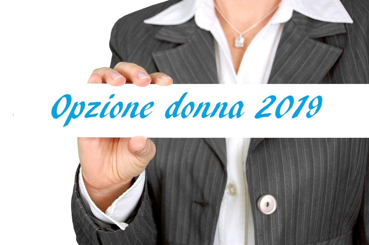 Proroga Opzione Donna 2019