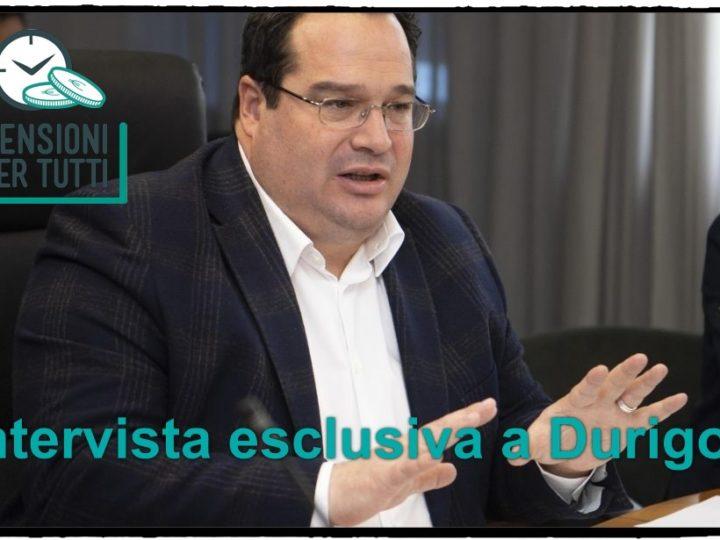 Pensioni, ultimissime oggi 1 giugno su quota 100 e quota 41: intervista a Durigon