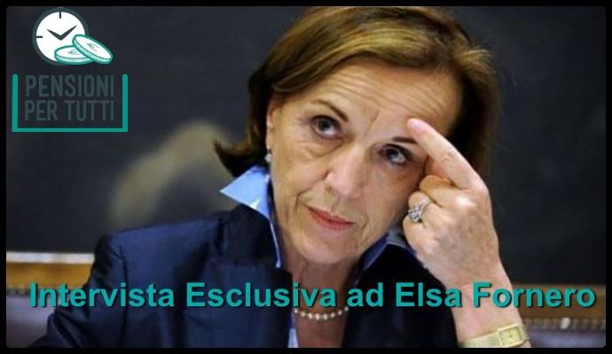 Riforma pensioni 2019, ultimissime al 28/9: intervista esclusiva ad Elsa Fornero