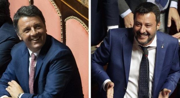Dichiarazioni su pensioni di Renzi e Salvini