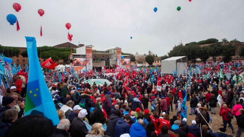 Riforma Pensioni ultime oggi 16 novembre: resoconto della Manifestazione dei sindacati