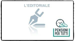 Riforma Pensioni, l'editoriale di Cazzola