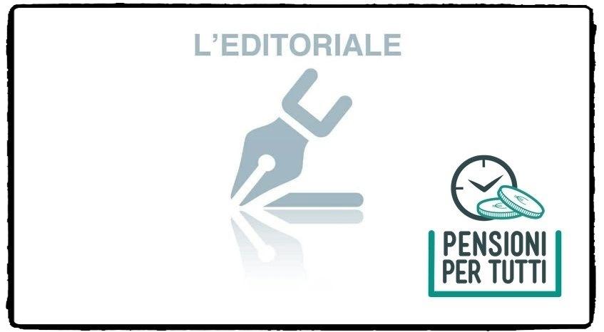 Riforma Pensioni, l'editoriale di Proietti