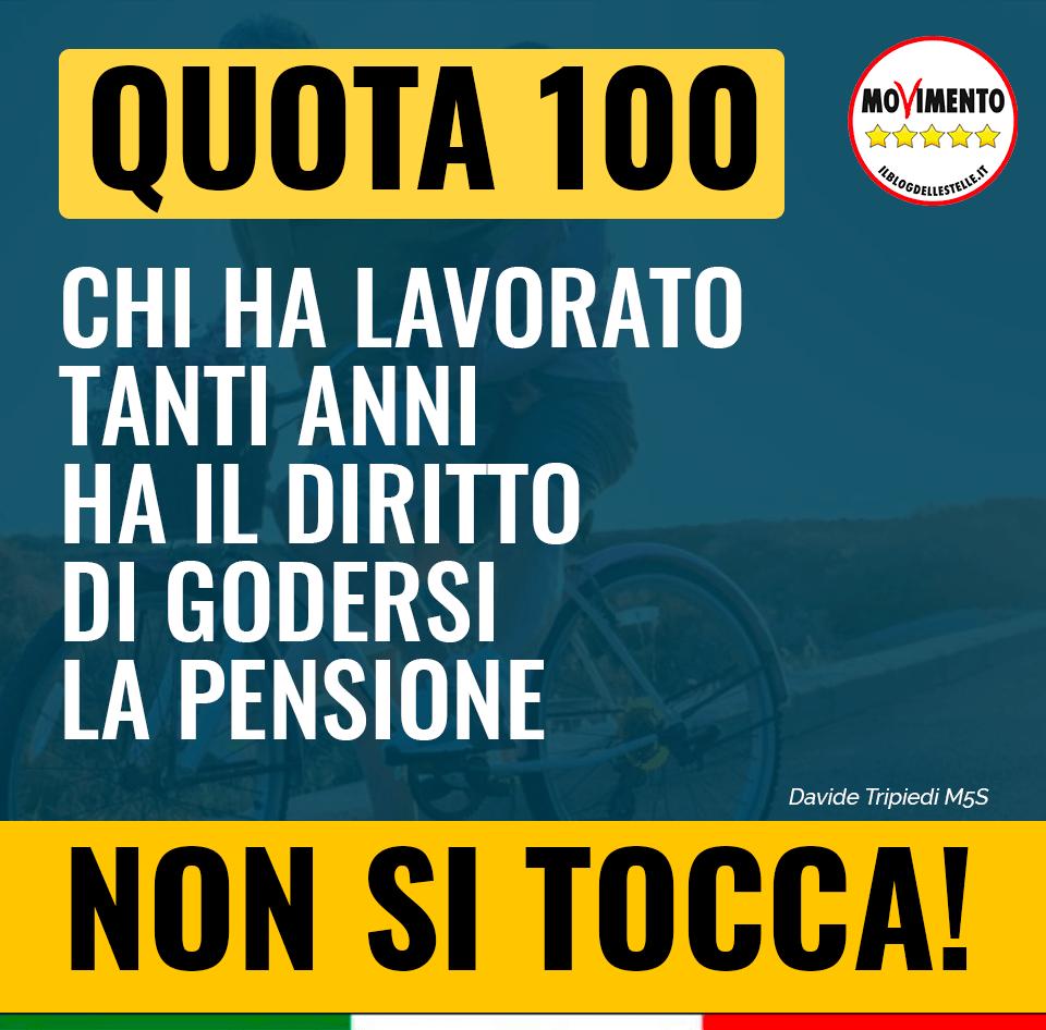 """Pensioni 2020, Tripiedi (M5S): """"Quota 100 non si tocca"""", l'ira dei quota 41"""