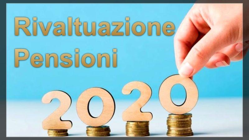 Rivalutazione Pensioni aprile 2020: arriva l'aumento, ecco esempi e a chi spetta