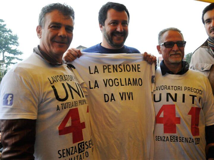 Riforma pensioni 2020, i precoci contro Salvini: su Quota 41 non ti crede più nessuno