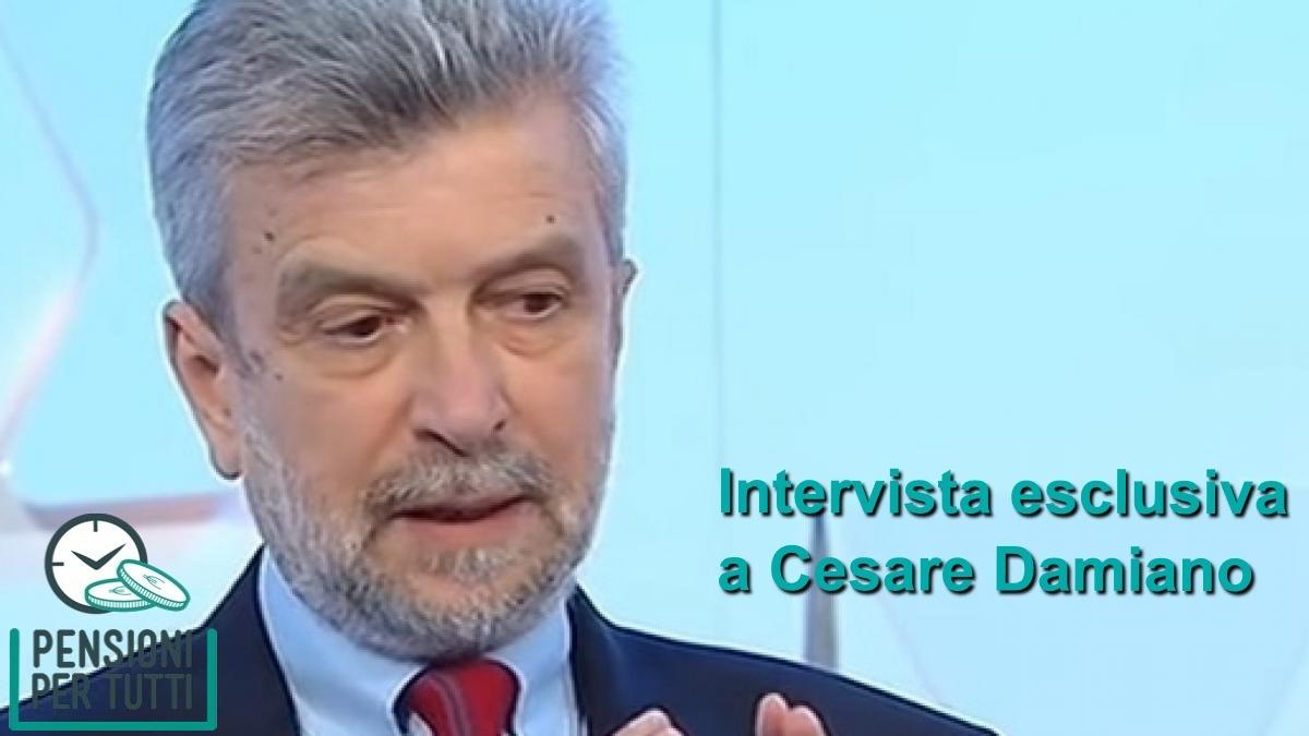 Riforma Pensioni intervista Damiano