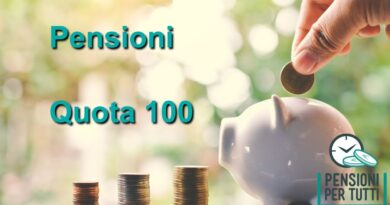 Pensioni quota 100 news
