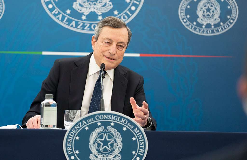 Ultimi Sondaggi politici elettorali: fiducia in Draghi, cresce il PD, giù la Lega
