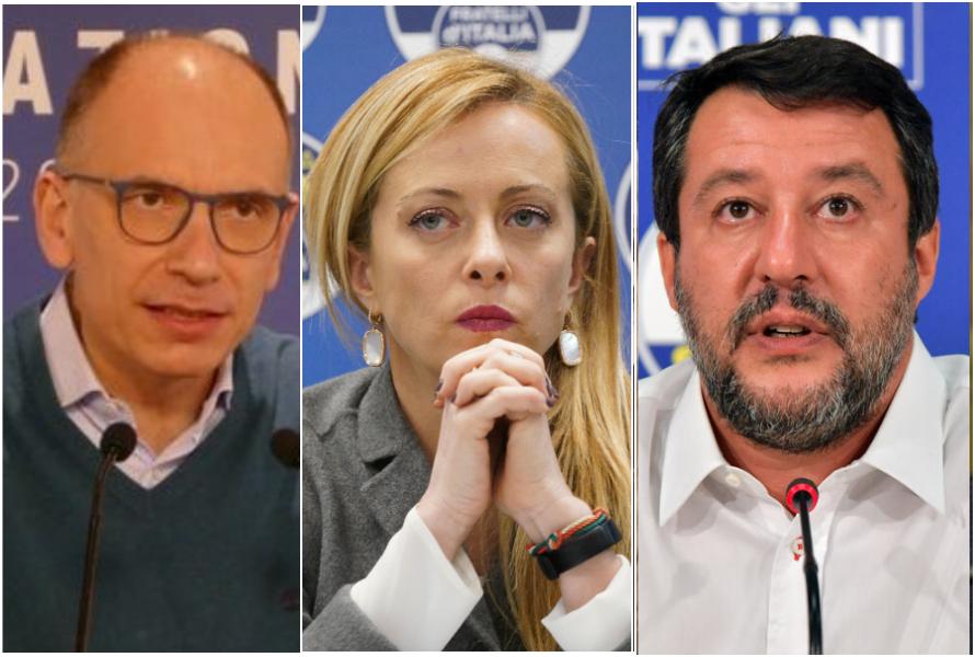 Ultimi Sondaggi politici elettorali oggi 13 luglio di La 7: Meloni supera Salvini